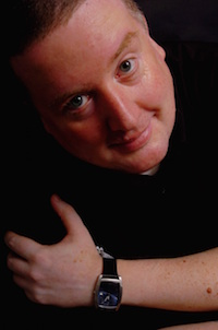 PIC BY ROB NORMAN.THE WESTERN MAIL.270905 Gary Slaymaker who has written his debut novel.